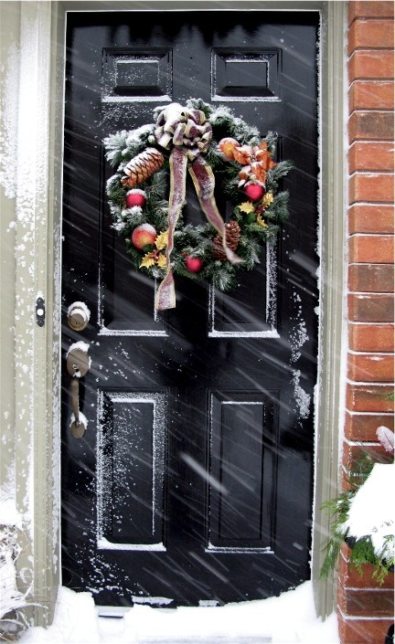 & Winter Door