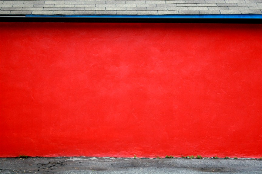 image gallery red wall